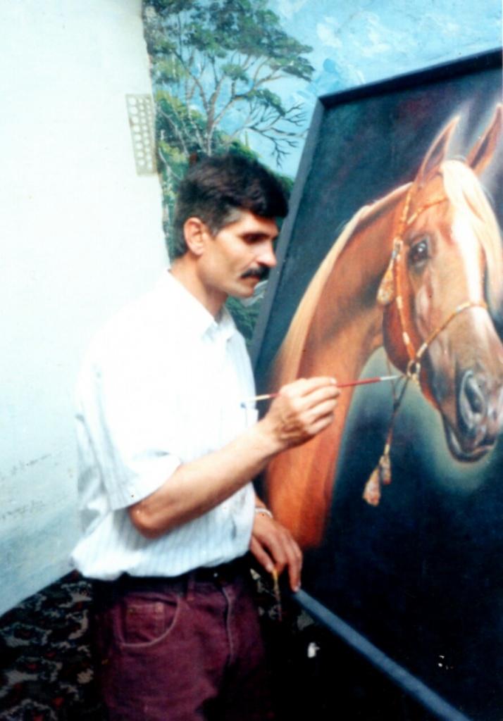 Maher Azeez professeur de Calligraphie arabe à Liège