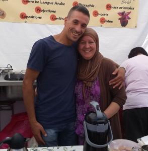 Nohra et son fils
