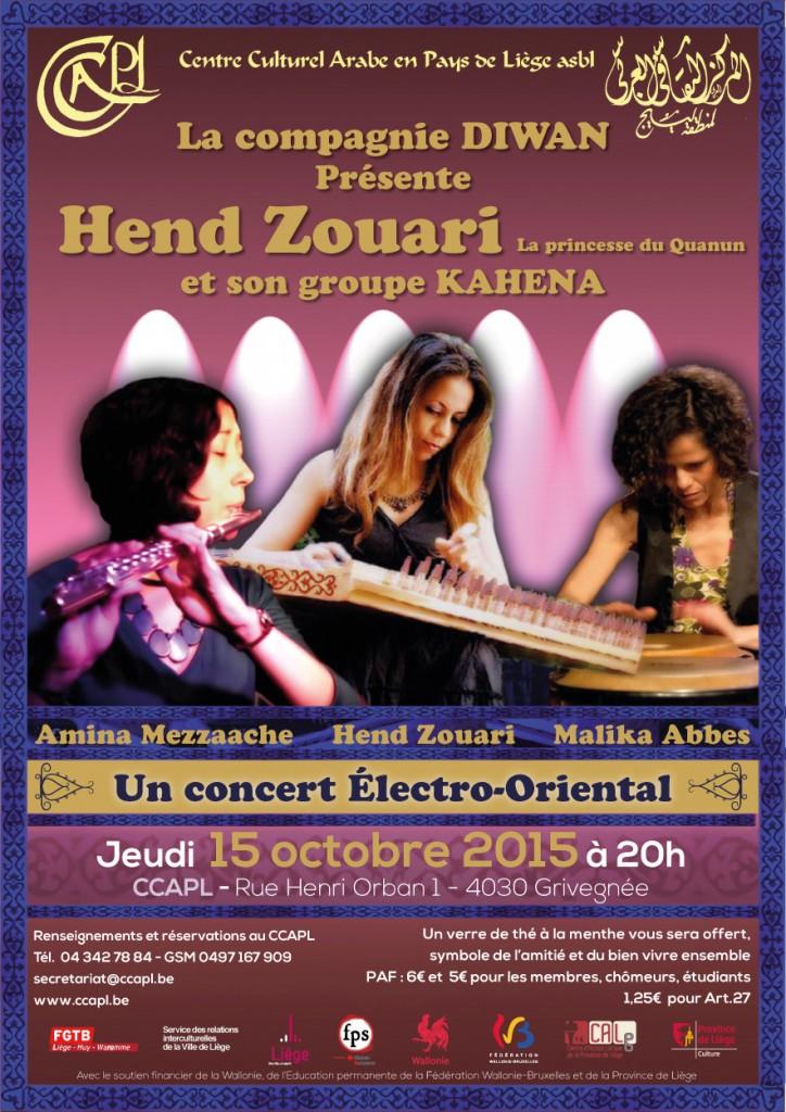 Concert Hend Zaouri Kahena