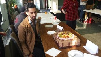 Gâteau de Fête de fin d'année 2015 au FLE