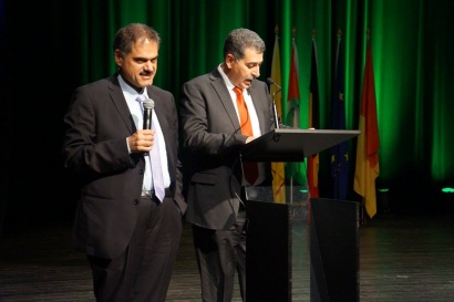 Musa Hadeed maire de ramallah à Liège