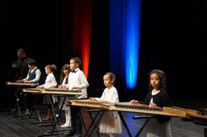 Quanun lors de la quinzaine culturel palestinienne