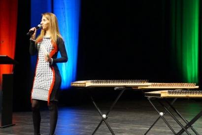 Touria Salhi - présentatrice de la quinzaine culturelle palestinienne