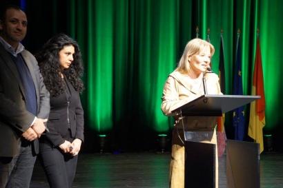 Véronique de Keyzer - Inauguration de la quinzaine palestinienne