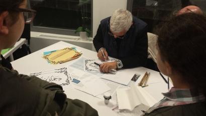 Maher Azeez - Cours de Calligraphie Arabe Liège